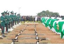 slain soldiers in makurdi